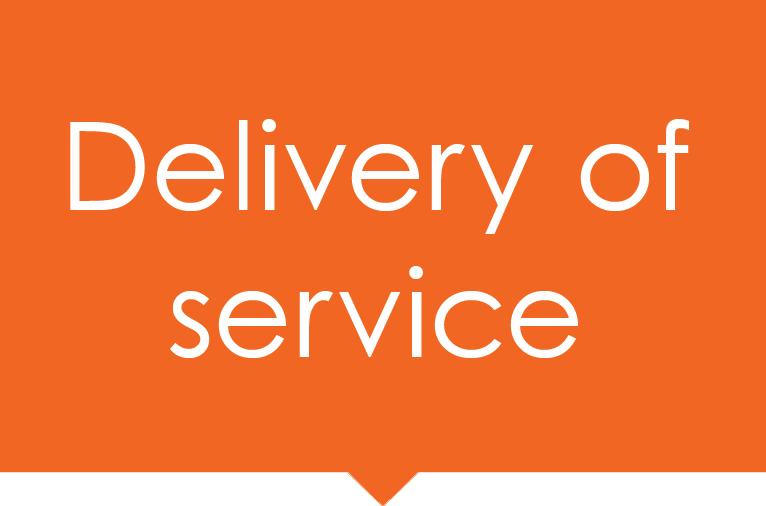 Delivery of Service