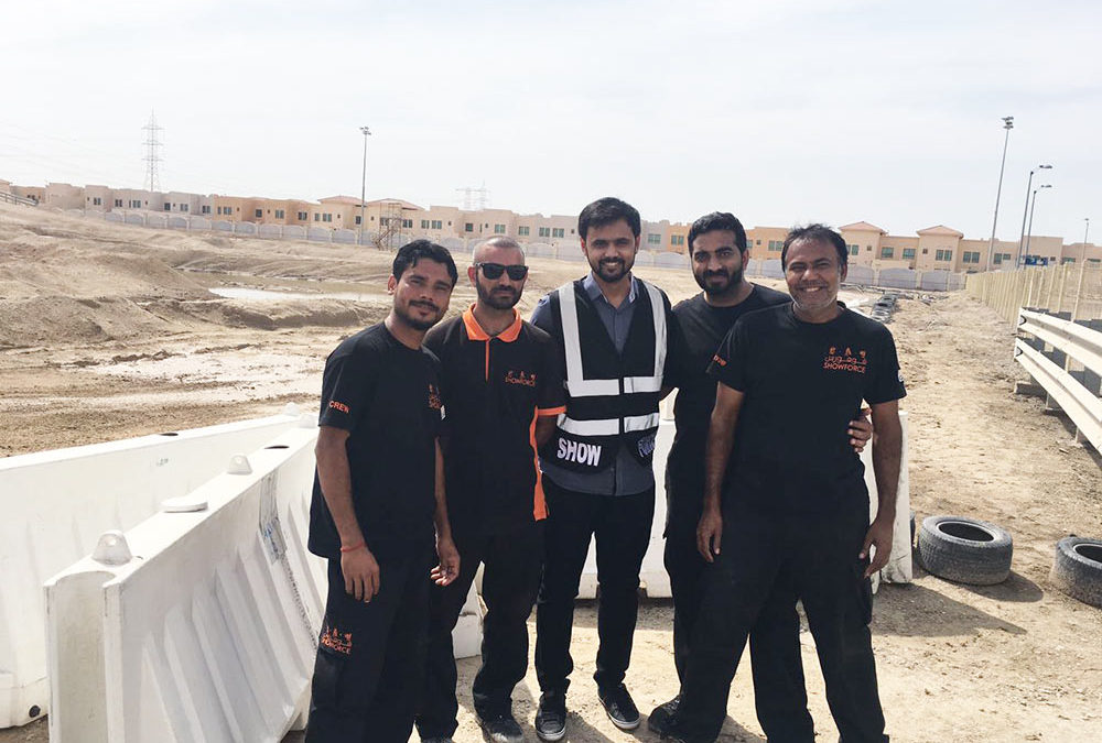 Abu Dhabi Desert Challenge for Showforce