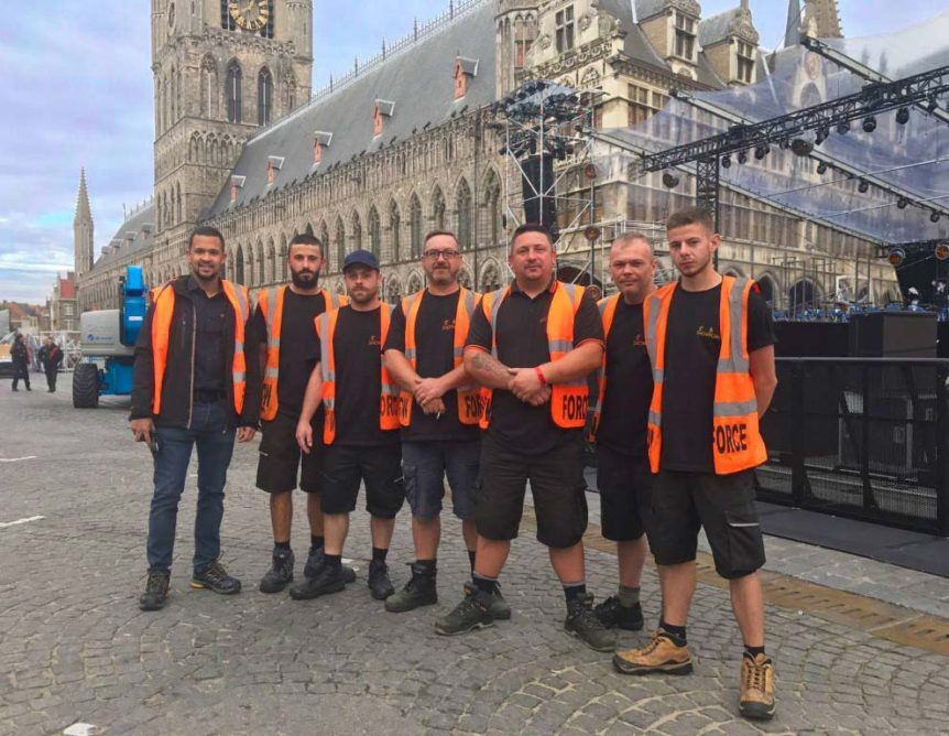 Showforce marks the Centenary of Passchendaele with Panalux